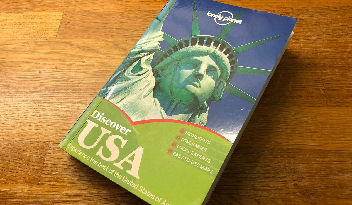 Resebok för USA av Lonely Planet