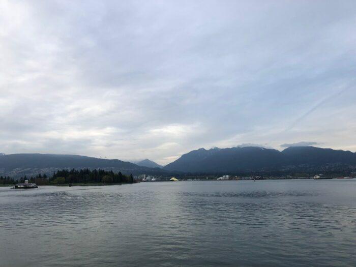 Downtown Vancouvers hamn