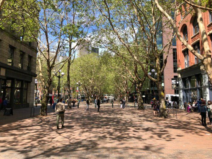 Området vid Pioneer Square