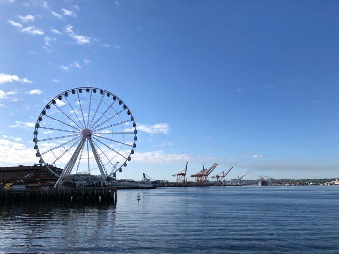 Pariserhjulet Seattle Great Wheel.